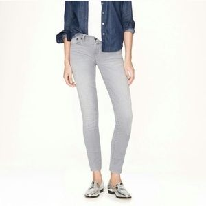 Jcrew Grey Cropped Matchstick Jeans Size 24